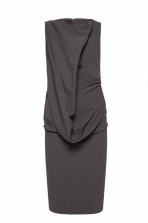 Draped dress od Rick Owens